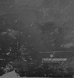 Dark black grunge texture background vector
