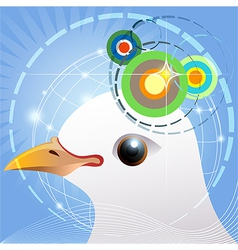 Bird navigation vector