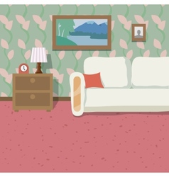 Indoor location background vector