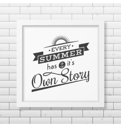 Quote typographical background vector