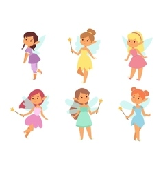 Fairies cartoon character vector image vector image