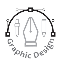 Graphic design concept and icons vector