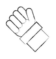 like thumb up symbol vector image vector image