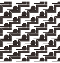Seamless pattern background of square and tape vector image