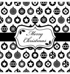 Black and christmas wrapping vector