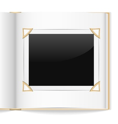Photo album vector image vector image