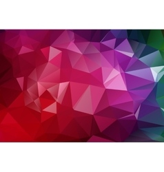 Geometrical polygon abstract purple vector