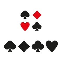 The playing card suit icon vector