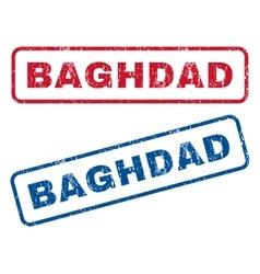 Baghdad rubber stamps vector