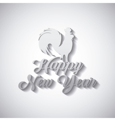 Chinesse happy new year design vector