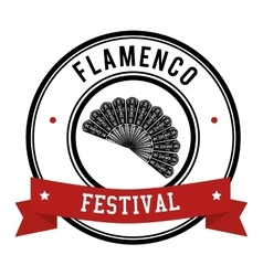 Flamenco culture design vector image vector image