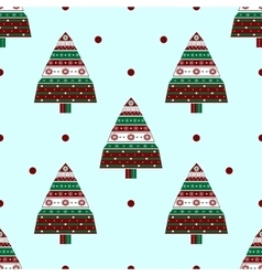 Holiday boxes with gifts silhouette Christmas tree vector image vector image