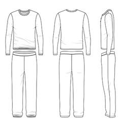 Sleepwear vector image vector image