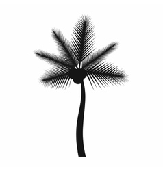 Palm butia capitata icon simple style vector