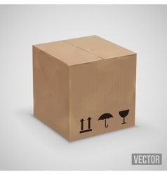 Old box vector