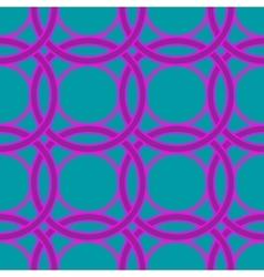 Ring geometric seamless pattern vector image