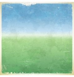 Summer themed grungy retro abstract background vector image
