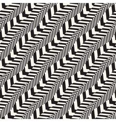 braids seamless pattern vector image