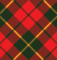 Tartan fabric texture diagonal pattern seamless vector