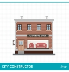 Furniture shop vector