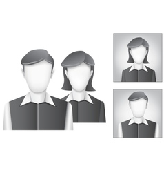 Default avatar vector