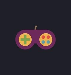 Joystick computer symbol vector image