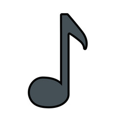 Musical notes design vector