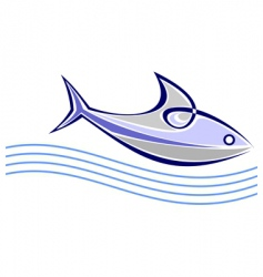 sea fish vector image vector image