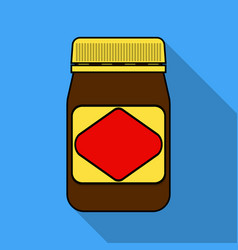 Australian food spread icon in flat style isolated vector