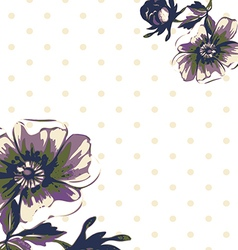 Vintage wallpaper frame rose flower pattern vector