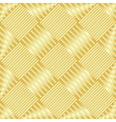 Gold wattled structure vector