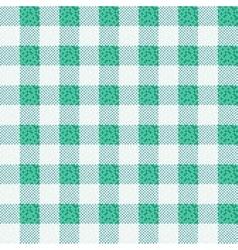 Green fabric texture backgroun vector