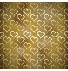 texture hearts vector image vector image