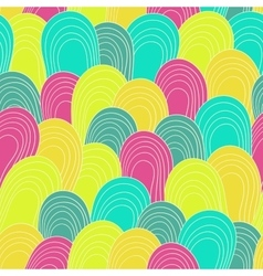 Seamless color hand-drawn pattern abstract vector