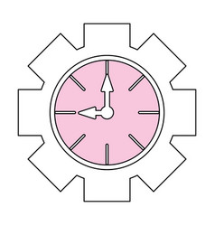 Clock time isolated vector