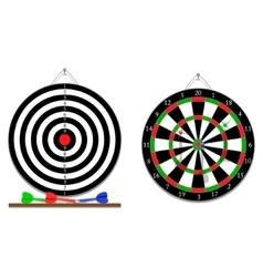 Darts game vector image