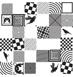 DP pattern 2 vector image vector image