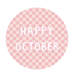 Happy october background4 vector