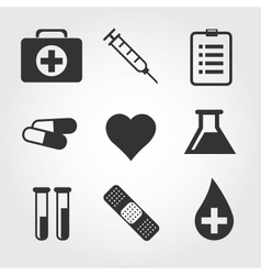 Medical icon flat design vector