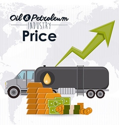 Petroleum price vector