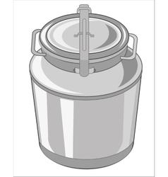 Big flask for liquid vector