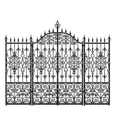 dates and fences vector image vector image