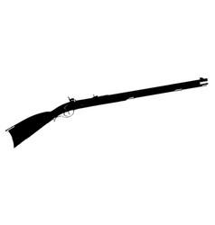 Flintlock musket vector