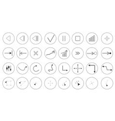 Media symbol vector