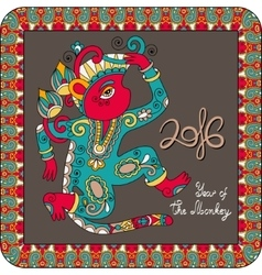 Original design for new year celebration with vector