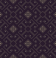 Abstract futuristic geometric seamless pattern vector