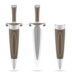 Battle dagger 03 vector