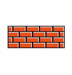 Brick Wall Construction Concret Image Vector
