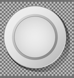 ceramic plate vector image