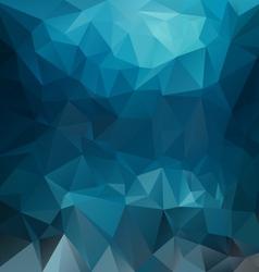 Dark blue sea polygonal triangular pattern vector